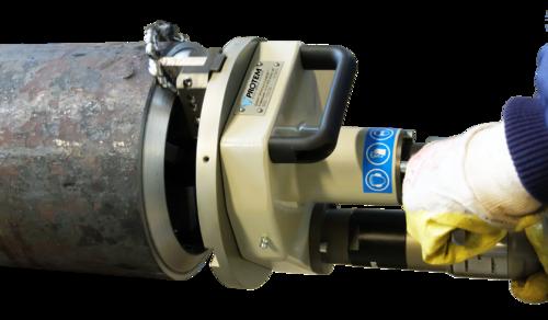 US40 - Rohrendanfasmaschine-Rohrbearbeitungsmaschine mit Druckluftmotor